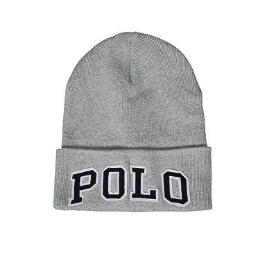 Ralph Lauren Bonnet Polo Gris pour Homme  Amazon.fr  Vêtements et ... d7c2838cf73