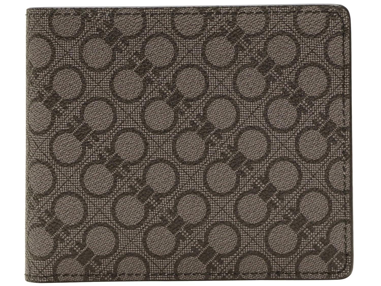 (サルヴァトーレフェラガモ) Salvatore Ferragamo 財布 サイフ メンズ 二つ折り財布 ブラックライト PVC 669907-0604762 ブランド B00XXUB5DU