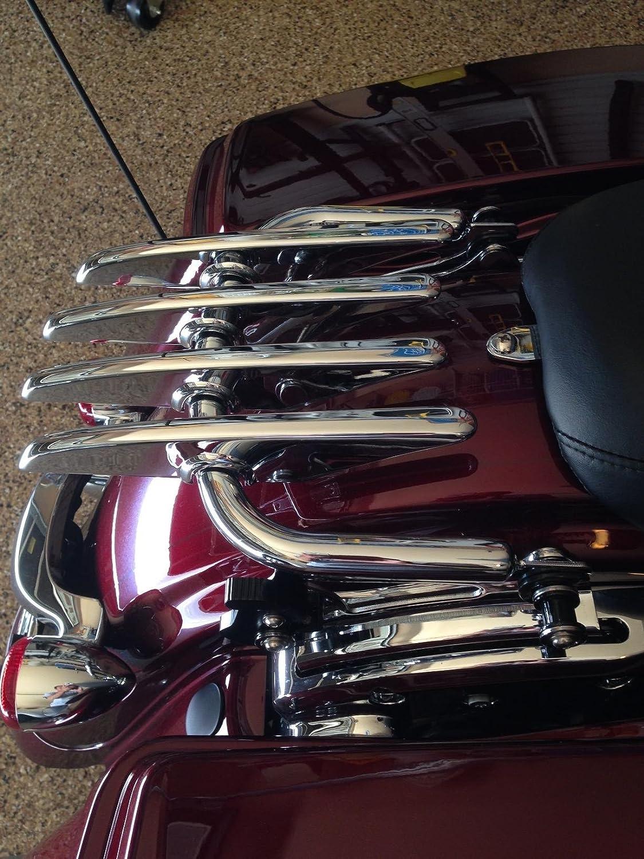 2009-2014 Harley HD Touring FLHR FLHT FLHX FLTR Detachable Stealth Luggage Rack