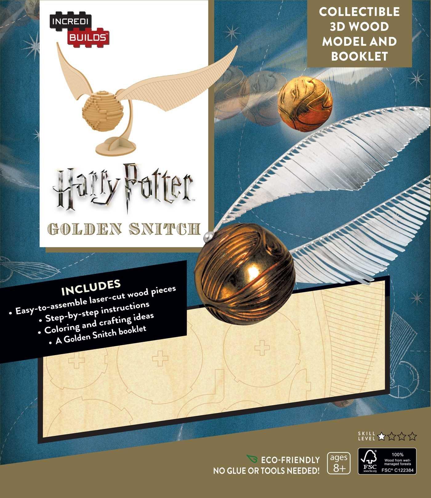 IncrediBuilds: Harry Potter: Golden Snitch 3D Wood Model and Booklet ebook