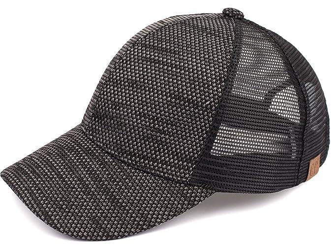 c0074289137 H-6140-06 Tri Color Trucker Hat - Black at Amazon Women s Clothing ...