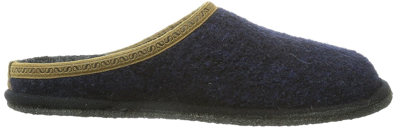 Stegmann 301 Unisex-Erwachsene Pantoffeln Blau Blau Pantoffeln (Dark Blau 8971) 7da318