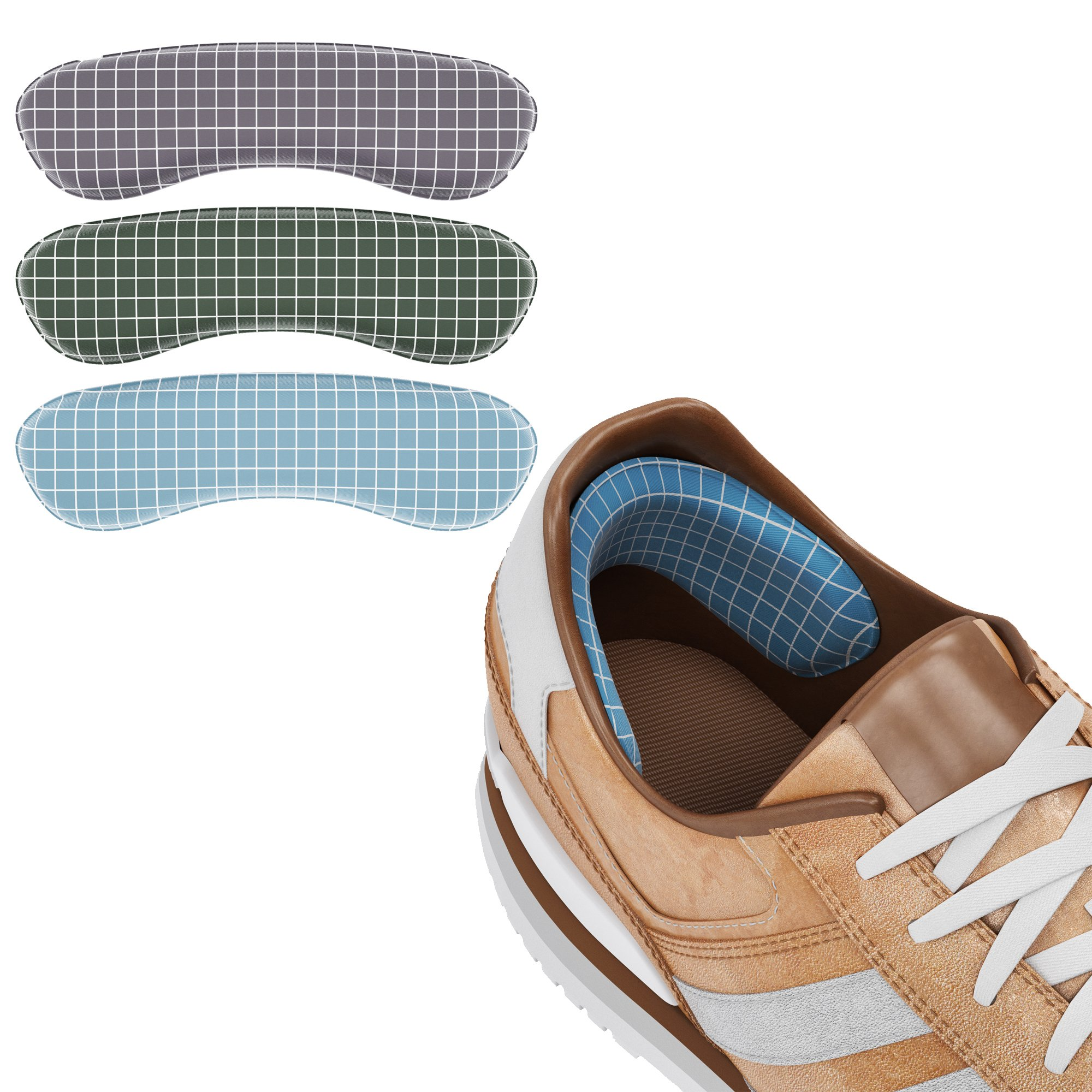 Ballotte - Heel Cushion Inserts - Heel Grips - Heel Pads - Shoe Pads - High Heel Inserts for Women - Heel Liners - Heel Grips for Loose Shoes - 10 Pcs
