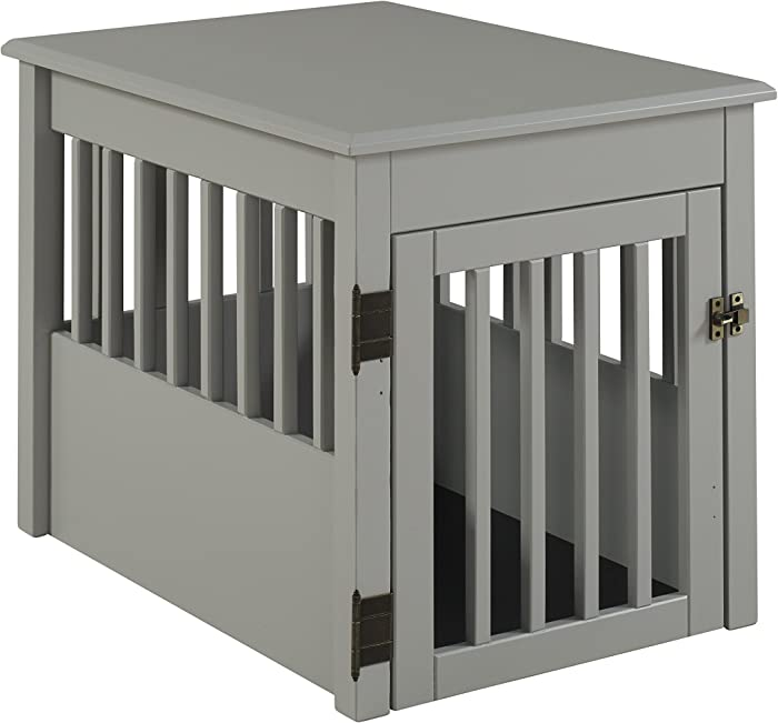 The Best Dog Crate Furniture Side Open
