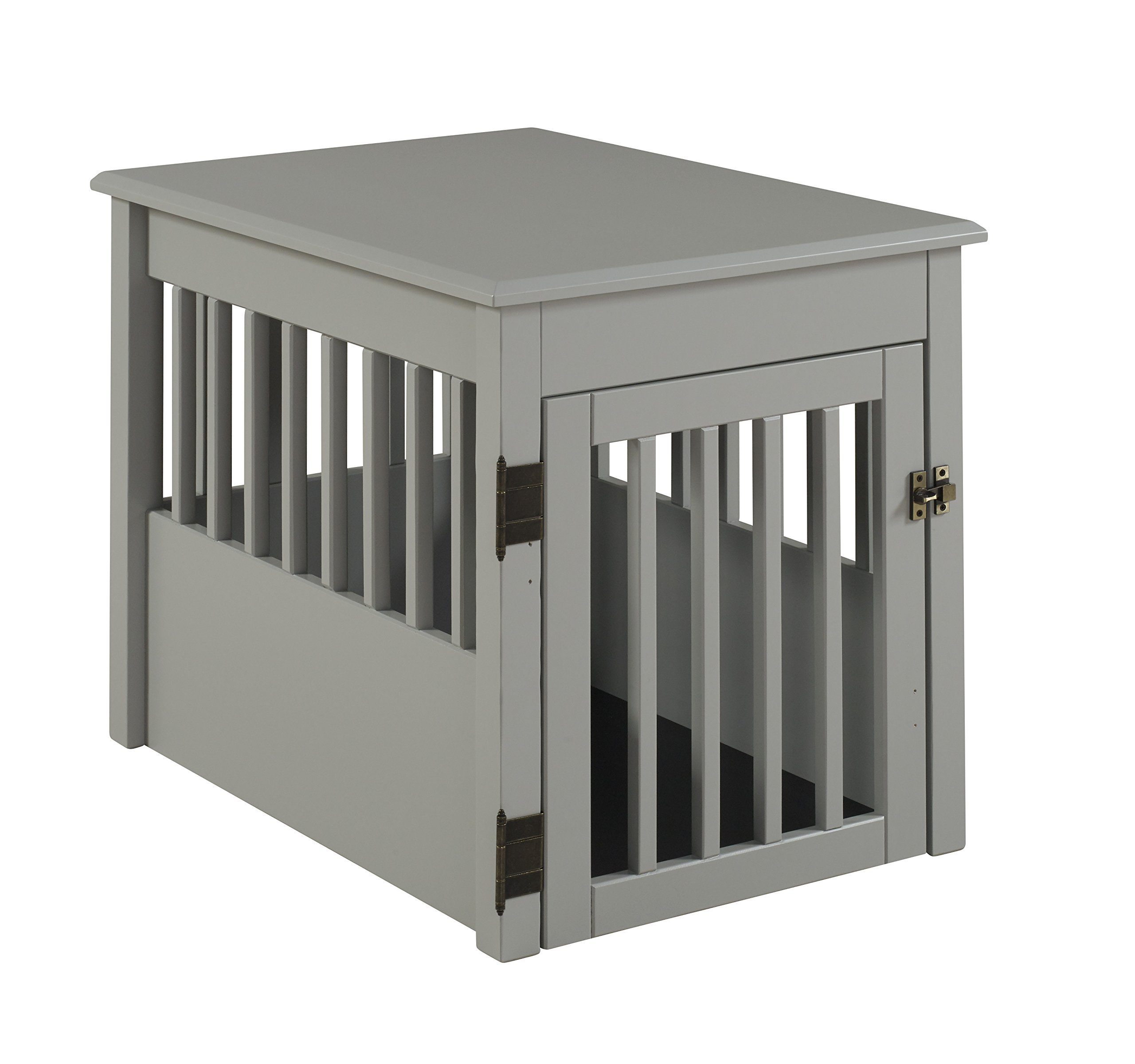 BarkWood Pet Crate End Table - Grey Finish by BarkWood Pets