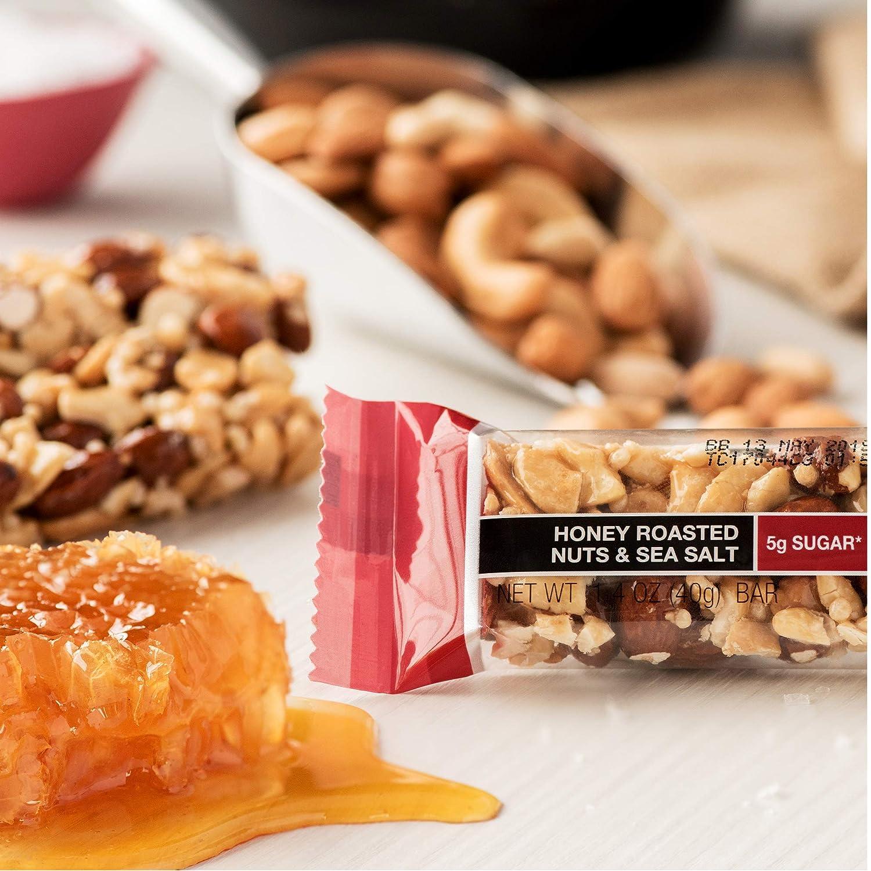 KIND Bars, Honey Roasted Nuts & Sea Salt, Gluten Free, 1.4 Ounce Bars, 12 Count: Amazon.es: Alimentación y bebidas