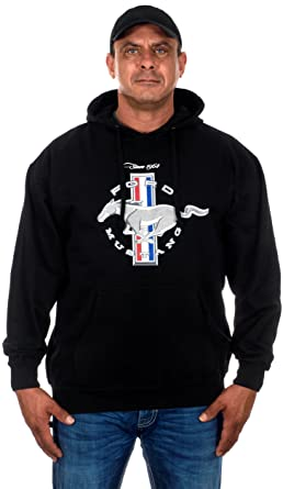 Amazon.com  Men s Ford Mustang Pullover Hoodie  Clothing 0ad18d9a77
