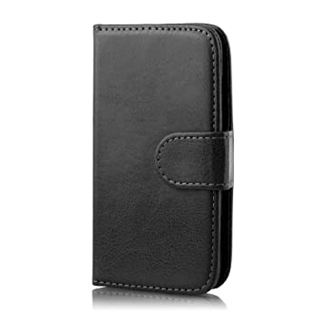 ad20ad47981 32nd Book Wallet PU Leather Flip Case Cover For Samsung Galaxy Ace 4 (SM-