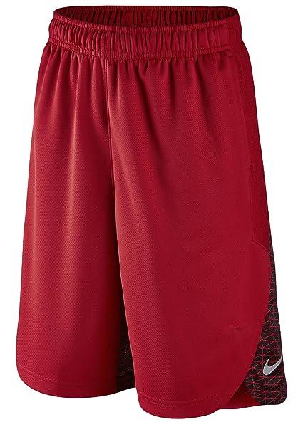 edbac147c Amazon.com: Nike Lebron Elite Red/Black Shorts - Boys' Grade School ...