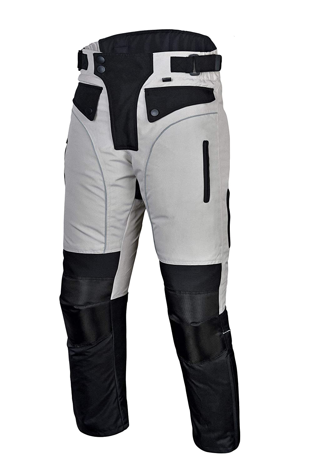Mens Motorcycle Biker Waterproof M Windproof Riding Pants Black with Removable CE Armor PT1