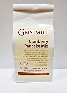 product image for Homestead Gristmill — Non-GMO, Chemical-Free, All-Natural Cranberry Pancake & Waffle Mix (2 Pack)