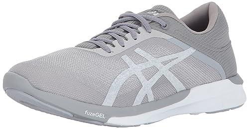 ASICS Zapatilla De Running Fuzex Rush Para Mujer White Silver Mid Grey Mujer