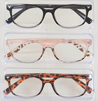 7dcc0290da9 Image Unavailable. Image not available for. Color  Steve Madden Reading  Glasses 3 Pack Readers ...