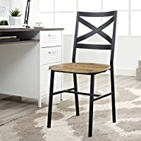 2-Pack Walker Edison X-Back Dining Chair