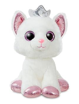 Aurora Sparkle Tales Gato Blanco 18cm Peluche, Color Rosa (60876: Amazon.es: Juguetes y juegos