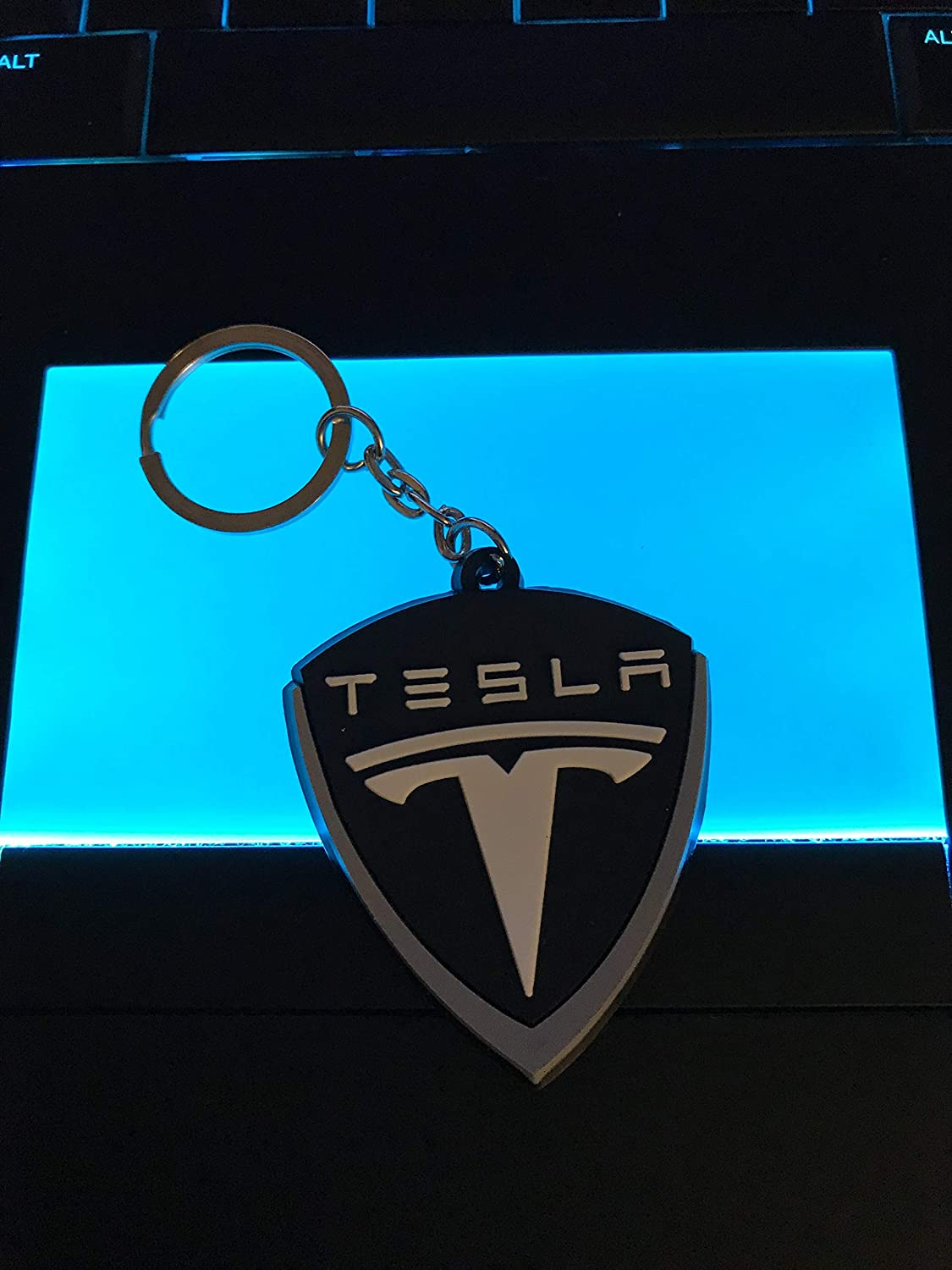 Rubber Collectable WetheFounders Automotive Car Keychains M Power,Tesla,Honda