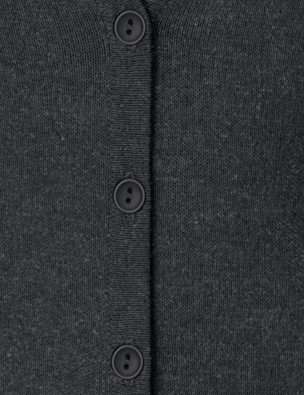MERAKI Baumwoll-Strickjacke Damen mit V-Ausschnitt