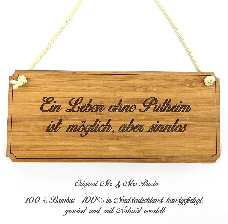 Amazonde Mr Mrs Panda Türschild Stadt Pulheim Classic Schild