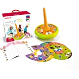 Miniland Mindful Kids Giant Spinning Top Game, ages 2 – 7 Years, 1 – 30 Players, Cooperative Play, Yoga, Meditation…