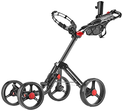 Amazon Com Caddytek Superlite Explorer 4 Wheel Golf Push Cart