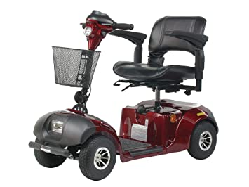 Amazon.com: Daytona 4 Wheel Scooter, S45001GT, M, Rojo, 1, 1 ...