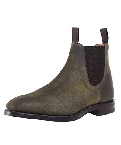 wholesale dealer 77dfc a1754 Loake Herren gewachste Wildleder Chatsworth Chelsea Boots ...