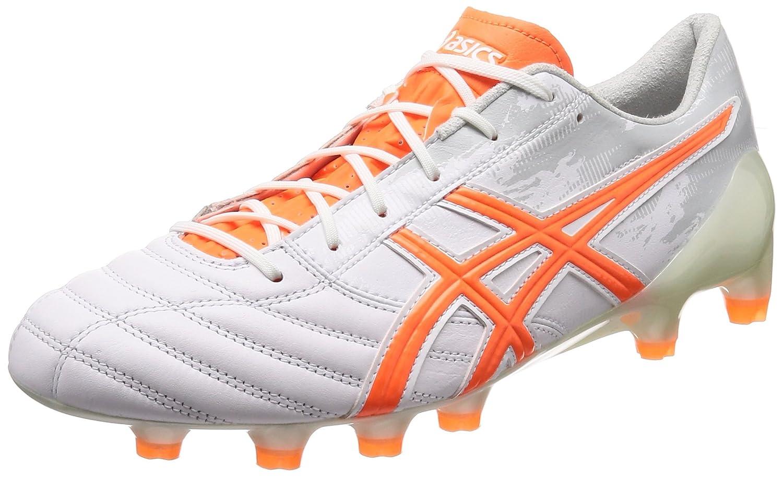 [アシックス] サッカー スパイク DS LIGHT X-FLY 3 乾選手着用モデル B076QJPTPP 28.0 cm|ホワイト/ショッキングオレンジ ホワイト/ショッキングオレンジ 28.0 cm