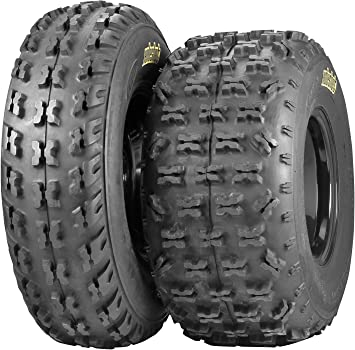 Set of 2 ITP Holeshot H-D Front Tires 22x7-10 6-ply
