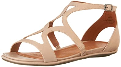 7013ad2c2ab Gentle Souls by Kenneth Cole Oak Leather Sandal