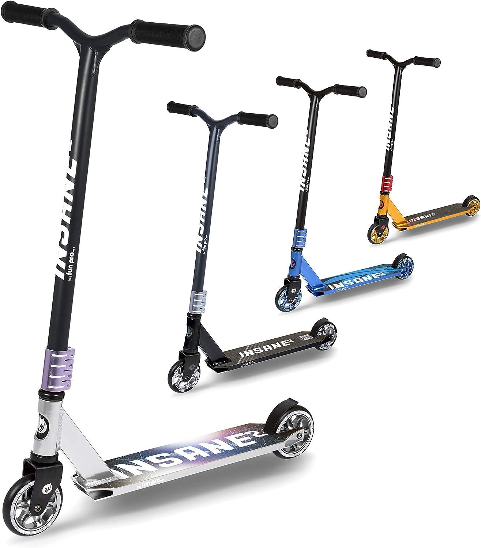 fun pro Insane2, SEMI PRO Stunt Roller bis 100 KG, (Stunt Scooter, Trick Roller) mit HIC Kompression, super Grip Rollen, ABEC 9, Grinding Deck, super stabil, aus Hamburg kaufen
