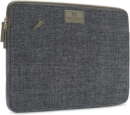 DOMISO 13 Pollici Custodia Borsa per Computer Portatile PC Protettiva Laptop Sleeve per 12.9 iPad Pro//13 MacBook Pro//13.5 Surface Laptop 2//Huawei MateBook X PRO//Lenovo Yoga S730 730 Grigio Scuro