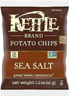 product image for Kettle Brand Potato Chips Sea Salt