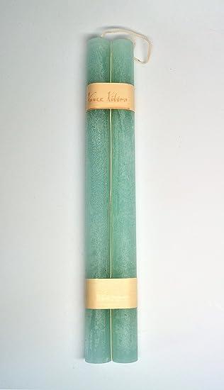 Amazon.com: Vance Kitira Timber Taper Candle - Sea Foam: Home ...