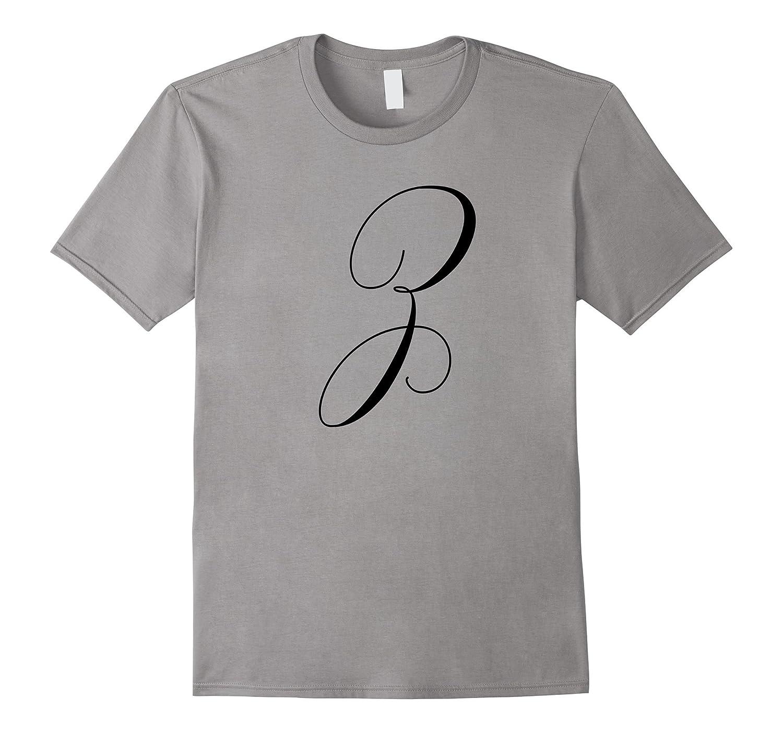 Capital Letter Z – Monogram Initial T-Shirt
