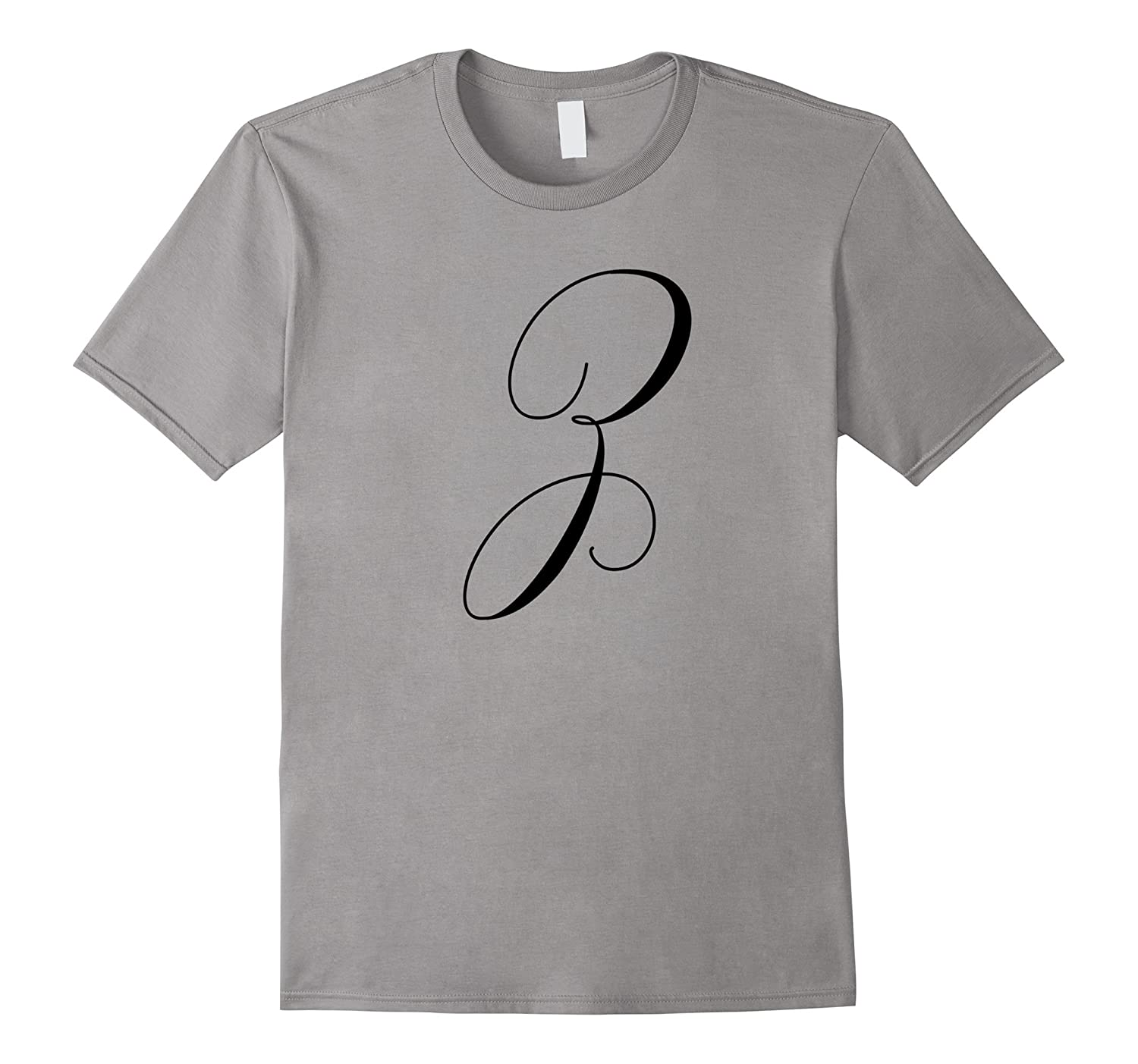 Capital Letter Z - Monogram Initial T-Shirt