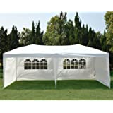 NEW Clevr 10'x20' 6 Removable Sidewalls 4 w/ Windows Canopy Party Wedding Outdoor Tent Gazebo Pavilion Event