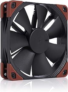 Noctua NF-F12 iPPC-2000 PWM, Heavy Duty Cooling Fan, 4-Pin, 2000 RPM (120mm, Black)