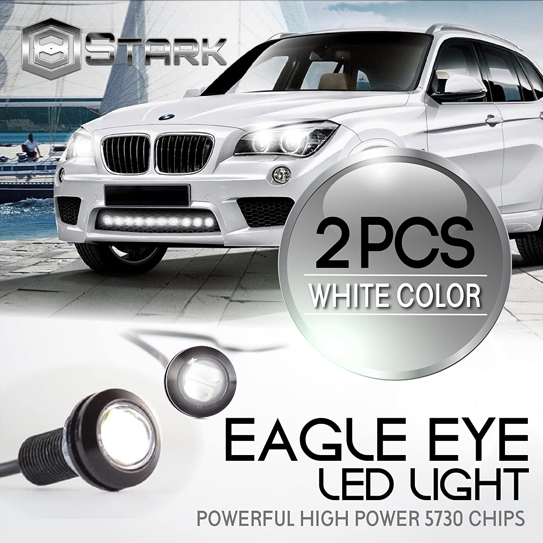 20 Pieces Eagle Eye 18mm 5730SMD High Power LED Fog Light DRL Backup Signal Bulbs Blue