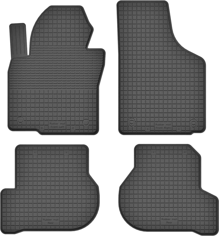 Teile EIN Set KO-RUBBERMAT Gummimatten Fu/ßmatten 1.5 cm Rand geeignet zur SEAT Altea//Altea XL 2004-2015 ideal angepasst 4