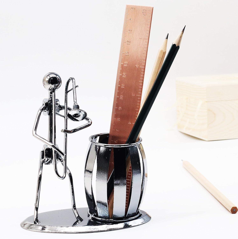Office Desktop Accessories Metal Pencil Holder Pen Holder Organizer Container