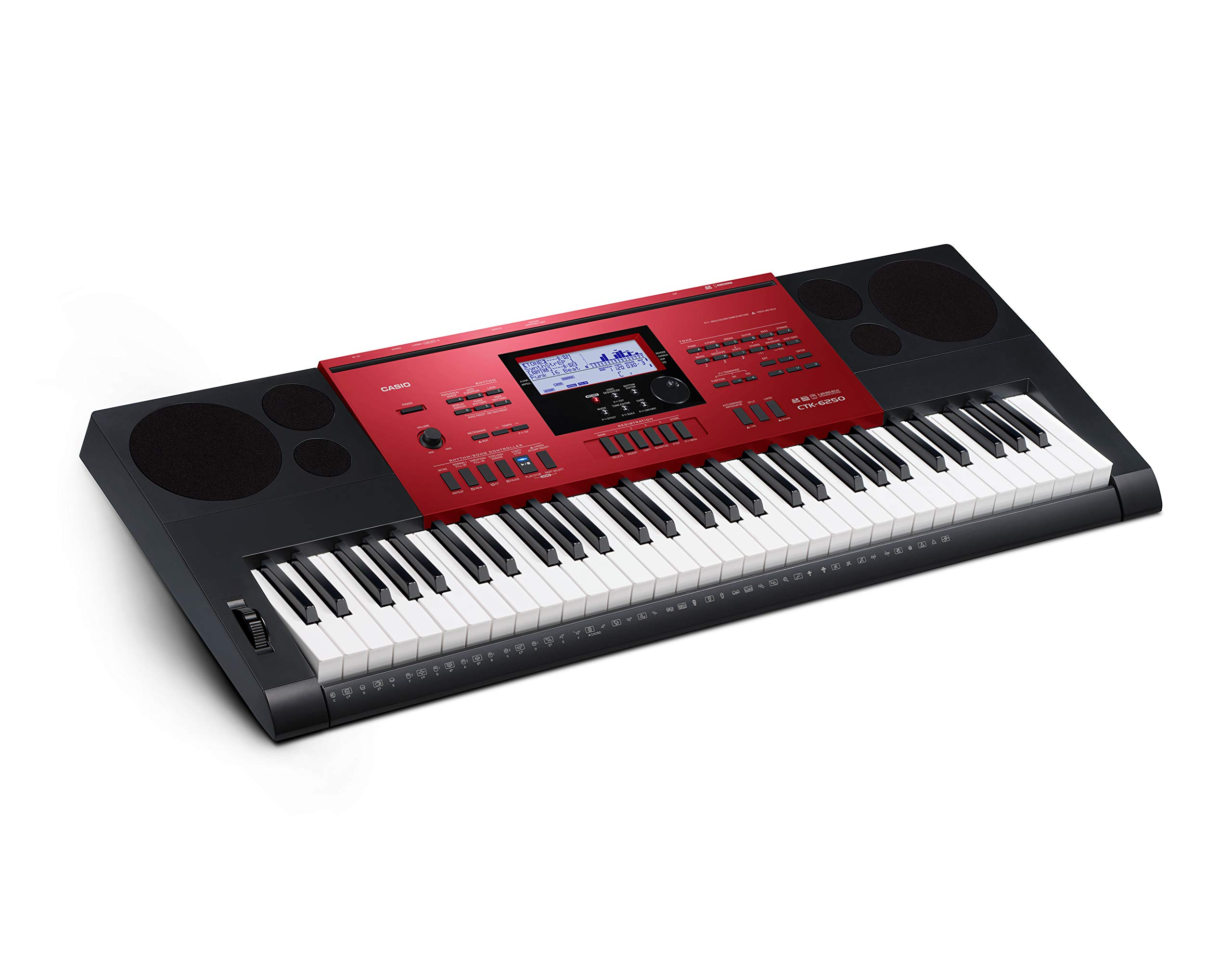 Casio CTK-6250 61-Key Keyboard with Power Supply by Casio (Image #7)