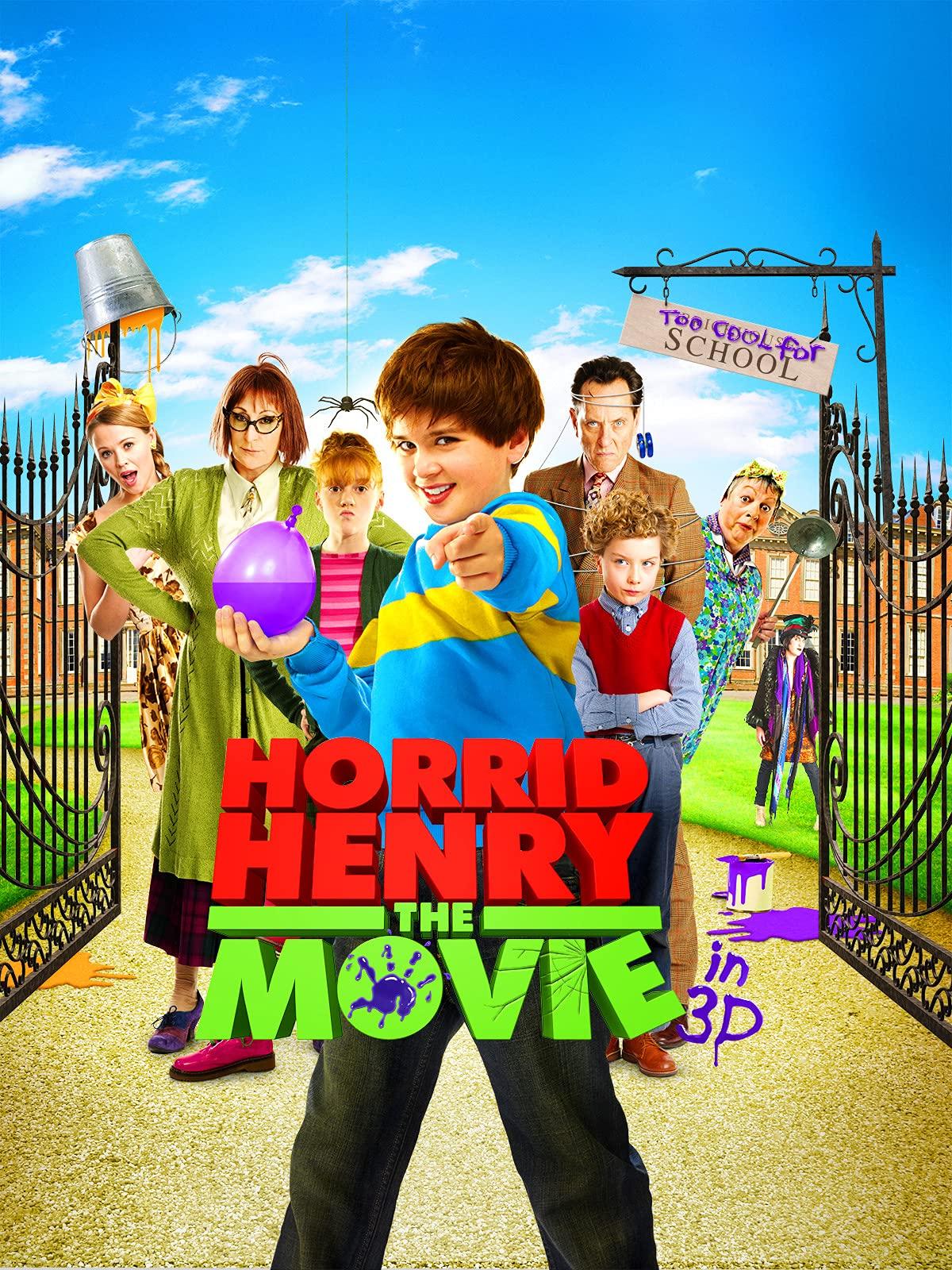 Horrid Henry: The Movie on Amazon Prime Video UK