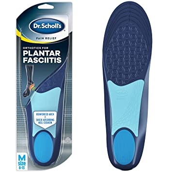 b62f285e78 Dr. Scholl's PLANTAR FASCIITIS Pain Relief Orthotics (Men's 8-13, Women's 6