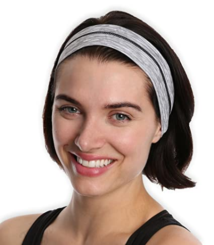 Running Yoga Headbands for Women   Men - Moisture Wicking   Non-Slip Sweat  Exercise 98010ce8b9a