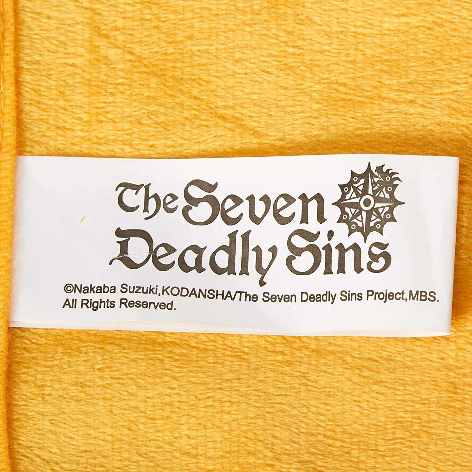 The Seven Deadly Sins 57873 Ban One Size Multicolor Melodias /& Hawk Throw Blanket