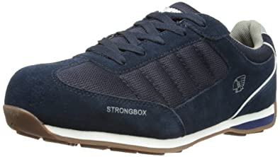 Apache Men's Strike Safety Trainers Navy ...