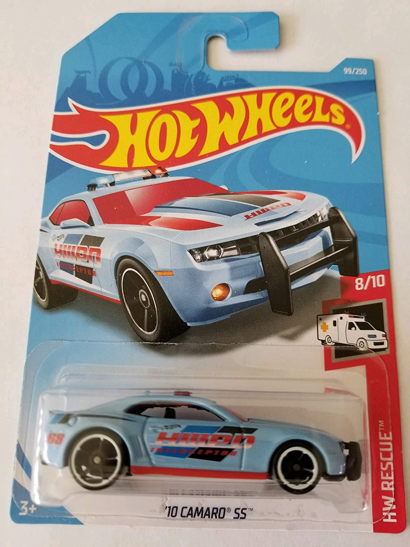Light Blue Hot Wheels 2019 Hw Rescue 8//10-10 Camaro SS