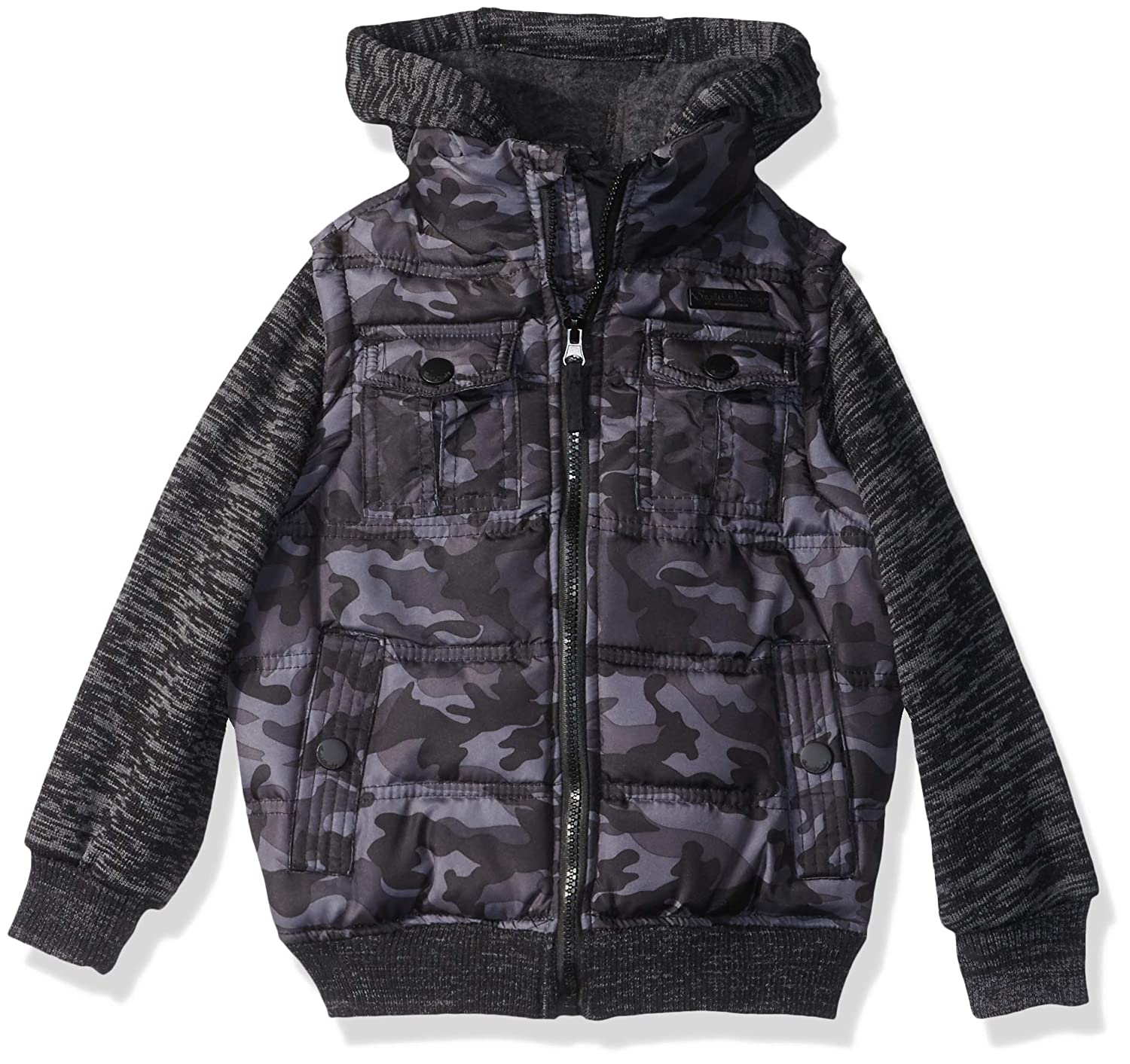 English Laundry Boys Fashion Quilted Bomber Jacket O/_E286H