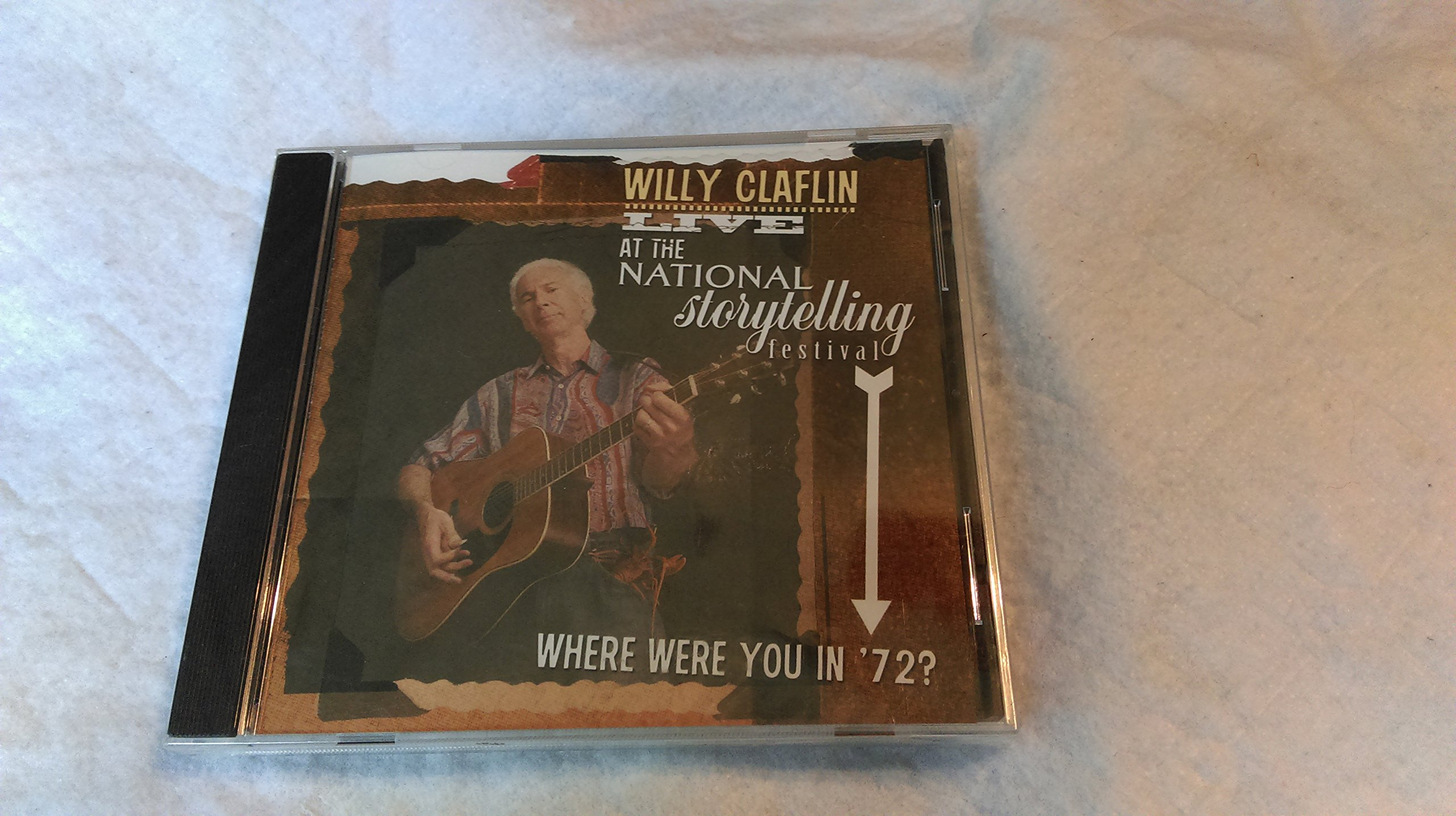 Willy Claflin LIVE at the National Storytelling Festival. Where were you in '72?