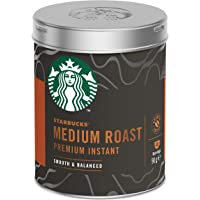 Starbucks Medium Roast Premium Instant Coffee Tin 90g